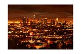 City of Angels - City of Light - Los Angeles Art by Markus Bleichner