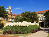 Texas Tech University - A Spring Day on the Texas Tech Campus Fotografisk tryk
