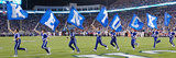 University of Kentucky - Kentucky Flag Panorama Print