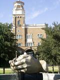 Texas Tech University - The Head Waters Fountain Photographic Print