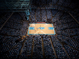 University of North Carolina - Dean E. Smith Center on Game Day Fotografisk tryk