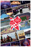 Olympic Collage Poster