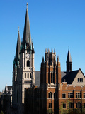 Marquette University - Towers of Gesu Church and Marquette Hall Photographic Print