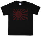 Youth: Japanese Banzai Flag Word Art T-Shirt