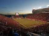 University of Utah - Rice-Eccles Stadium Fotografisk tryk af Tom Smart