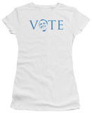 Juniors: Barack Obama - Vote 2012 T-Shirt
