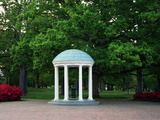 University of North Carolina - The Old Well Stands Alone Photographic Print by Jerome Carpenter