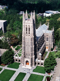 Duke University - Duke Chapel Aerial View Photographic Print