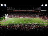 University of Louisville - Papa John's Cardinal Stadium Night Game Photographic Print