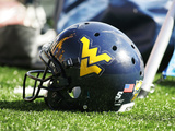 West Virginia University - West Virginia Helmet Photographic Print