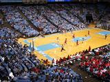 University of North Carolina - Women's Basketball vs Ncsu in the Dean E. Smith Center Foto