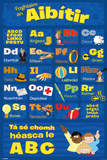 Learn The Alphabet-Irish Affischer