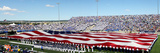 Air Force Academy - American Flag Spans the Field at Falcon Stadium Photo by Arnie Spencer