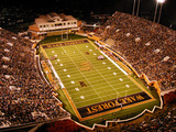 Wake Forest University - BB&T Field Fotografisk tryk af John Grogan