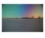 Barren Rainbows of Frost, North Dakota Photographic Print by Gregory Patrick Lafferty