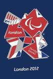 London 2012 Paralympics-Union Jack Logo Plakater