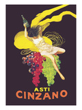 Asti Cinzano Giclee-tryk i høj kvalitet af Leonetto Cappiello
