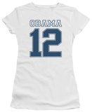 Juniors: Barack Obama -  Obama 12 T-Shirt