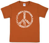 Youth: Peace T-Shirt Word art T-Shirt