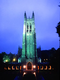 Duke University - Campus Centerpiece Photographic Print