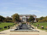 University of Maryland - Mckeldin Library, University of Maryland Photographic Print