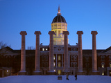 University of Missouri - Winter Columns Photographic Print