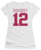 Juniors: Mitt Romney - Romney 12 T-Shirt