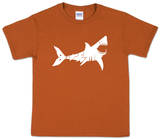 Youth: Shark 'Bite Me' Word art T-Shirt