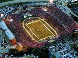 University of Missouri - Aerial View of Missouri's Memorial Stadium Print by Sarah Becking