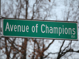 University of Kentucky - Avenue of Champions Print