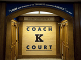 Duke University - Coach K Court, Cameron Indoor Stadium Fotografisk tryk