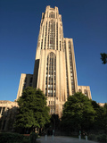 University of Pittsburgh - Cathedral of Learning on a Clear Day Photographic Print by Will Babin