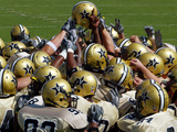 Vanderbilt University - Commodore Football Huddle Photographic Print