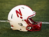 University of Nebraska - Nebraska Helmet Photographic Print