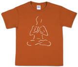 Youth: Yoga Poses Word art T-shirt
