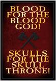 Sangue per il dio del sangue, in inglese Foto