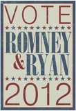 Vote Romney &amp; Ryan 2012 Prints