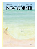 The New Yorker Cover - July 17, 2000 Regular Giclee Print by Jean-Jacques Sempé