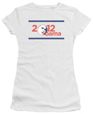 Juniors: Barack Obama - Obama 2012 T-Shirt