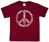 Youth: Peace T-Shirt Skjorter