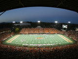 Oregon State University - Reser Stadium Night Game Fotografisk tryk