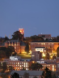 Washington State University - A View of Campus at Night Photo