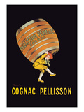 Cognac Pellisson - Barrel Premium Giclee Print by Leonetto Cappiello