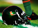 University of Miami - Miami Helmet Photographic Print by Steven Murphy