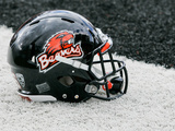 Oregon State University - Oregon State Beavers Football Helmet Photographic Print