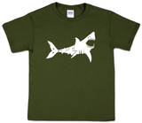 Youth: Shark 'Bite Me' Word art Bluse