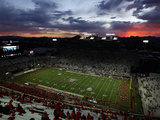 University of Arizona - Arizona Stadium at Sunset Fotografisk tryk