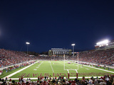 Washington State University - Stanford vs Washington State - Martin Stadium Fotografisk tryk
