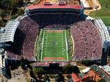 University of Mississippi (Ole Miss) - Vaught-Hemingway Stadium Aerial View Photographic Print