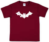 Youth: Bite Me Bat Word Art T-Shirt